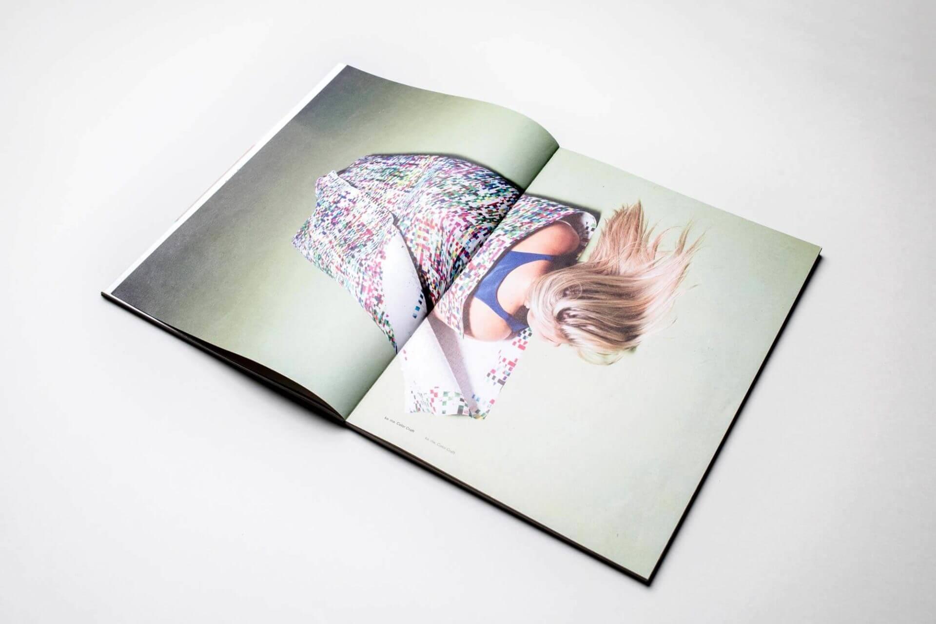 Color Craft Kunstobjekt für Soirée Graphique 2012, Kunsthalle Bern